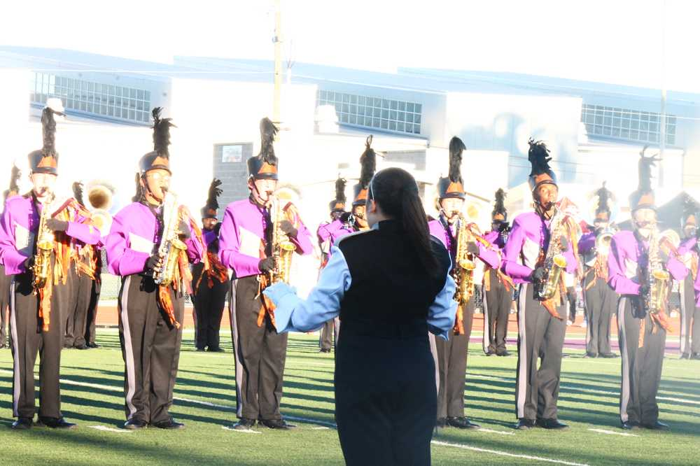 Marching Band Drum Major Conducting Profile Marching Band Drum